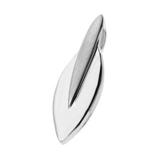 Zawieszka srebro blaszka łezka gładka+mat nr A6 06670985-04 próba 925