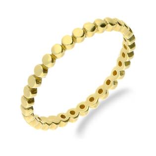 Pierścionek złoty bead blask nr MZ T23-R-2016-21 próba 375
