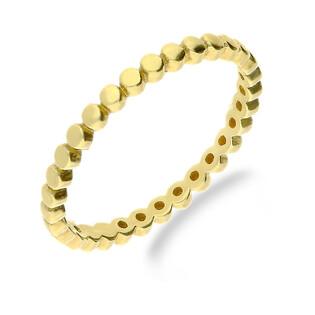 Pierścionek złoty bead blask nr MZ T23-R-2016-21 próba 333