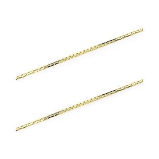 Łańcuszek złoty kostka nr VK VEDCO 050 próba 375