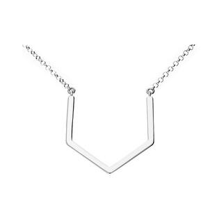 Naszyjnik srebrny geometryczny nr ZJ 044-GD-Z