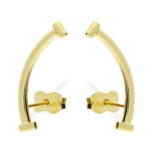 Kolczyki złote łuki nr AR 9988 Au 585