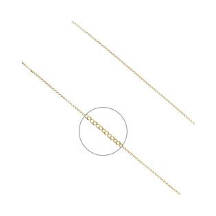 Łańcuszek pozłacany typu rolo ZJ RSF 035 GOLD próba 925