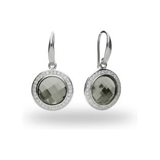 Kolczyki srebrnez kolekcji Spark numer CQ KWC203510BD Sezam - 1