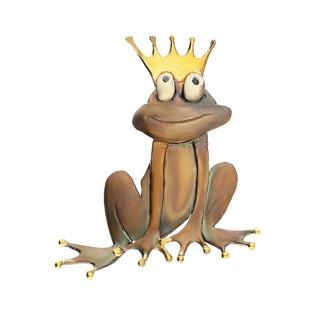 Broszka żaba w koronie AG ARTIS A.Głodowski BRZ-7 próba 925