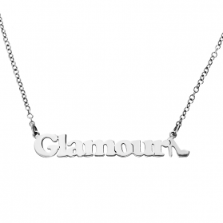Naszyjnik srebrny Glamour nr BK 101513 próba 925