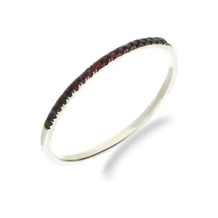 Pierścionek zaręczynowy z rubinem nr. VE 4115 WR białe złoto próba 585