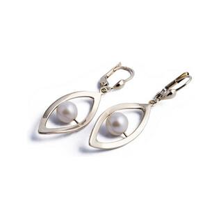 Kolczyki złote z perłami nr AR 0084 próba 333