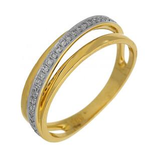 Pierścionek zaręczynowy z diamentami numer AW 35938 Y VENEZIA