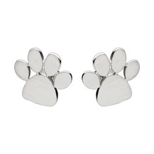 Kolczyki srebrne łapki satynowe OL HAY-E001 próba 925