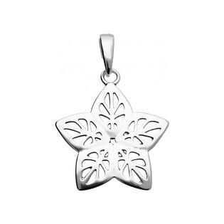 Zawieszka srebrna damska kwiatek ażur UN 726 j.oksyda KK Sezam - 1