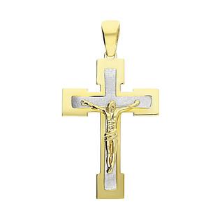 Krzyżyk z wizerunkiem ramiona rozszerzone S3 H-005 próba 333