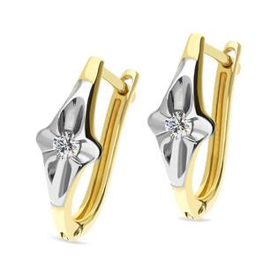 Kolczyki złote z diamentami nr DI 245-05