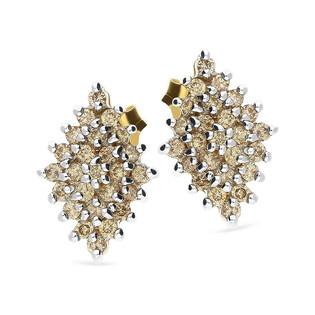 Kolczyki złote z diamentami nr VE 2643