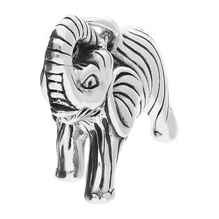 Zawieszka srebrna w kształcie słonia NI XX21 próba 925