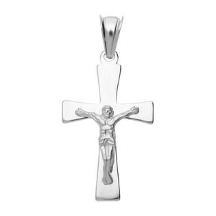 Krzyżyk srebrny z wizerunkiem Jezusa MV K178 próba 925