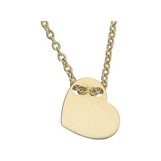 Naszyjnik złoty z kolekcji Happy nr AR 0745 serce próba 585 Sezam - 1