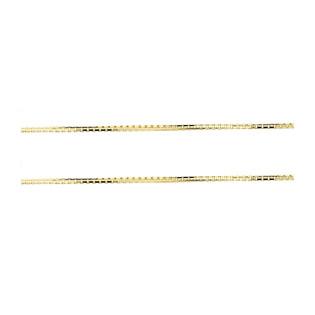 Łańcuszek złoty kostka OS VED 040 próba 585