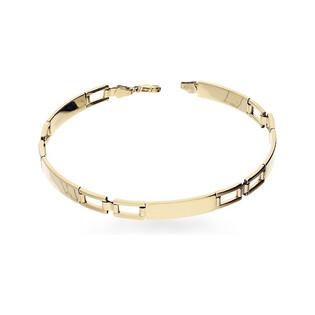 Bransoleta damska złota blaszki numer AR 0890-BR GS Au 333 Sezam - 1