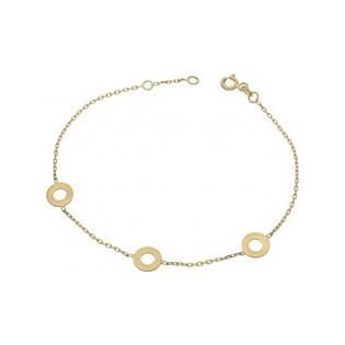 Bransoleta złota damska nr MZ T6-LB-20 (forse 35) próba 333 Sezam - 1