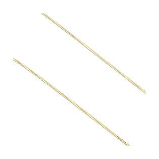 Łańcuszek złoty rombo podwójne BC 1430-025 próba 585