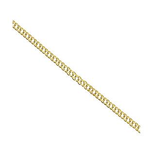 Bransoleta złota rombo podwójne BC 1430-025 próba 585