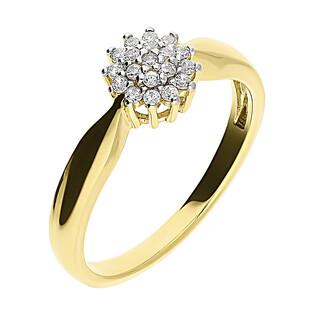 Pierścionek złoty BRIDEL GR kalafior nr DJ PREMIUM226M próba 585