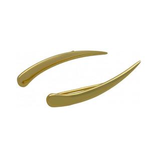 Kolczyki na płatek łuk blask AR XE11968 próba 375