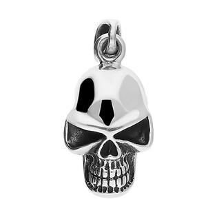 Zawieszka srebrna w kształcie czaszki nr NI XX47 próba 925