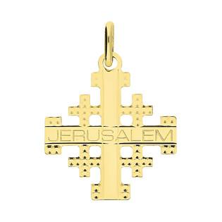 Krzyżyk złotyJerozolimski nr KM C-744 próba 585