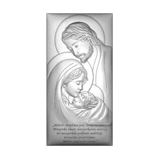 Art.Dekoracyjne obrazek św. Rodzina WJ 6380SS-2X