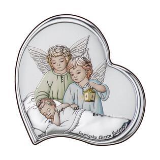 Art.Dekoracyjne obrazek Anioł z L.nad.Dz.Chrz. WJ DS23-2C