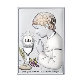 Art.Dekoracyjne Obrazek Komunia Św.Ch. napis WJ DS04-2CO