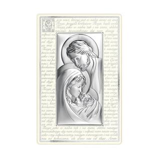 Art.Dekoracyjne obrazek św. Rodzina WJ 6380P-3N