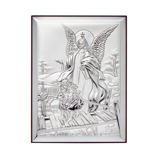 Art.Dekoracyjne Anioł kładka 13x18cm WJ 31123