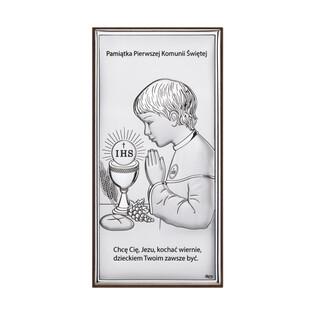 Art.Dekoracyjne obrazek Komunia-chłopiec WJ DS30-3O chłopiec