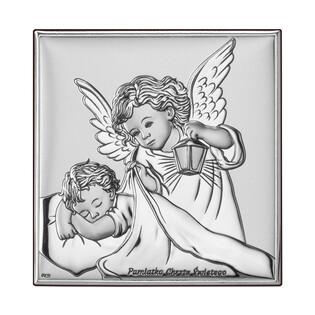 Art.Dekoracyjne Obrazek Aniołek z L.Pamiątka Chr WJ DS14-2