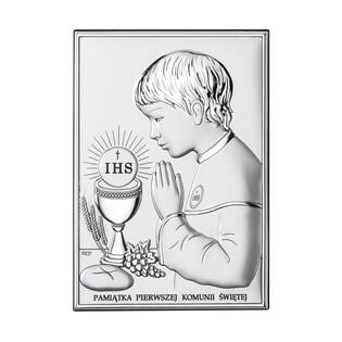 Art.Dekoracyjne obrazek Komunia-chłopiec WJ DS04-2O