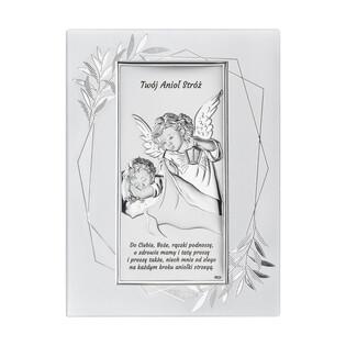 Art.Dekoracyjne obrazek Anioł z L.nad.Dz.napis WJ DS02FO-2