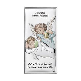 Art.Dekoracyjne obrazek Aniołek z L.nad.Dz.Chrze WJ DS01-2C