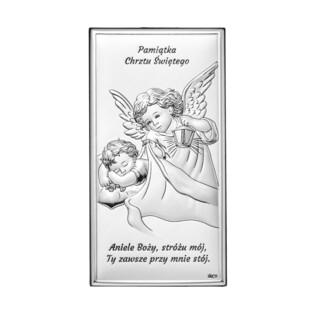 Art.Dekoracyjne obrazek Aniołek z L.nad.Dz.Chrze WJ DS01-2