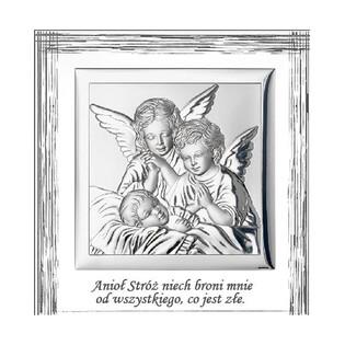 Art.Dekoracyjne obrazek Anioł Stróż nad Dz. WJ 829-3