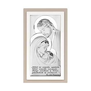Art.Dekoracyjne Obrazek Św. Rodzina WJ 6380S-2XTP