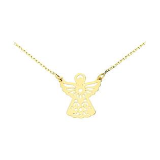 Naszyjnik anioł ażur/anker MZ T23-N-0218-9-LZ próba 585