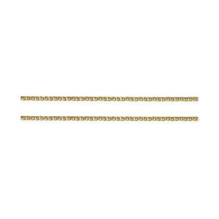 Łańcuszek złoty lisi ogon nr VK SPG3D 022 próba 585 Sezam - 1