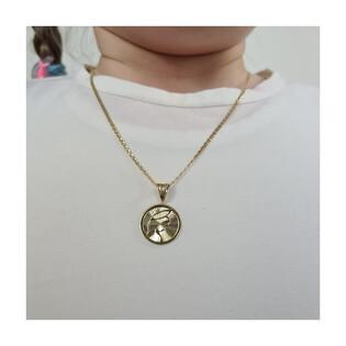 Medalik medalik z łańcuszkiem M2 MYP-01+FPBCGDE 040 próba 375