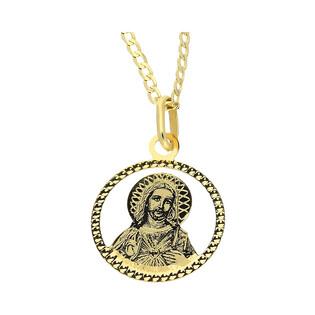 Medalik medalik z łańcuszkiem M2 CPP-229+GAXPDE 0+1 040 L50 próba 585