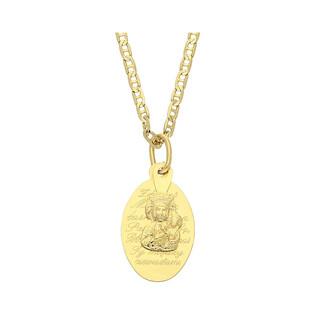 Medalik medalik z łańcuszkiem M2 TB001+RBPDECO 050 próba 585