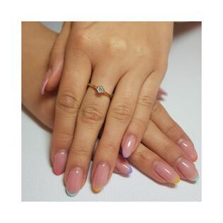 Pierścionek zaręczynowy z diamentem SOLITER Magic nr. KU 4071 próba 585