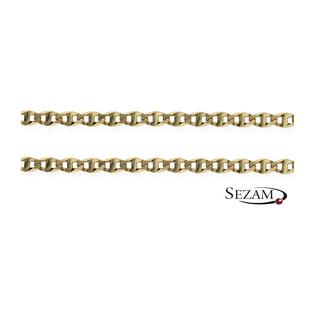 Łańcuszek białe złoto gucci FL FPBCGDE 050 próba 585 Sezam - 1